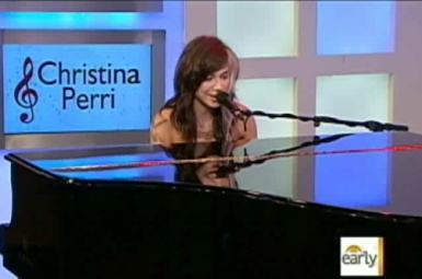 "christina perri on the early show  ""Jar of Hearts"" Phenom Christina Perri's Rapid Rise To Fame"