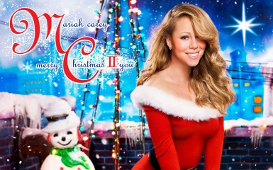merry christmas ii you Mariah Carey Wishes Another Merry Christmas II You