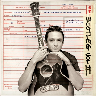 johnny cash bootleg ii cover 385 Johnny Cash Album Stream: Bootleg Vol. 2   From Memphis to Hollywood