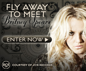 britney spears contest 300x250 Win A Chance To See Britney Spears LIVE In Concert