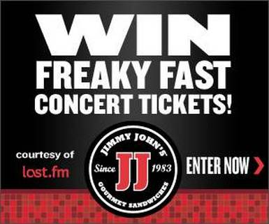 picture11 Win Freaky Fast Concert Tickets From Jimmy Johns And Last.fm!