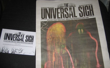 "radiohead the universal sigh Radiohead Releases ""The Universal Sigh"" Free Newspaper On March 29"
