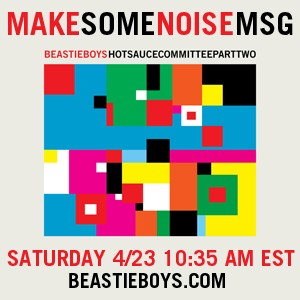 bbmakenoisemsg Beastie Boys At Madison Square Garden Tomorrow Morning?