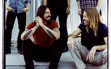 foo fighters cutout1 Album Stream: Foo Fighters Go Back To The Garage For 'Wasting Light'
