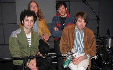 The Vaccines during their Last.fm Discover session