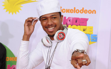 nick cannon pointing Street Date Review: Nick Cannon Proves Hes Not Mr. Mariah Carey In Mr. Showbiz