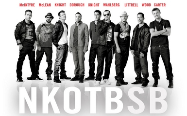 nkotbsb 2 384x240 New Kids On The Block And Backstreet Boys Release Joint Album Of Hits Chosen By Fans