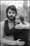 1969 Paul and Linda McCartney  (credit Linda McCartney)