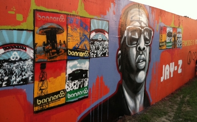 jayzgraffitti Ten Years Strong, Bonnaroo Celebrates Anniversary With Fun And Funky Day One