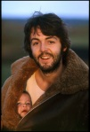 "1970 Paul McCartney and daughter Mary McCartney (From Back Album Cover of ""McCartney"")"
