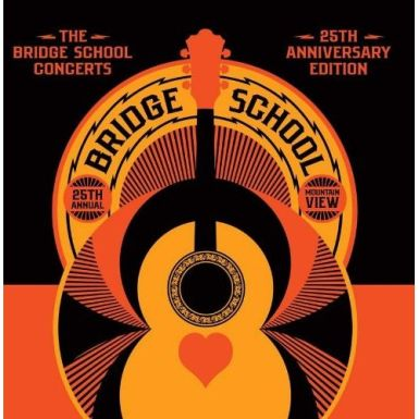 bridge school cover 385 Remembering 25 Years of the Bridge School Benefit   New CD/DVD Set