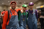 Mario, Luigi & the estranged Wario