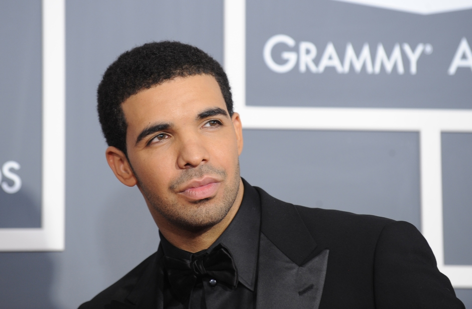Singer Drake arrives for the 53rd annual