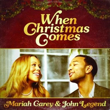 cover art4 Street Date: Mariah Carey & John Legend Team Up To Spread Holiday Cheer With New Single When Christmas Comes