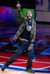 There was no time for a bathroom break at last Thursday's Detroit Pistons game as Gym Class Heroes front man Travie McCoy took the stage and had fans on their feet the entire time during an exclusive halftime performance.